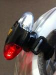 Helmet Light - options are: back blinking, back/front blinking or both lights steady