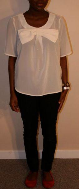 Cream Blouse - $22