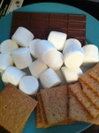 S'mores. That's right. Just be careful, you're playing with fire and all.