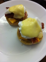 Eggs benny and world juniors hockey
