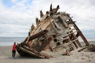 Pesuta Shipwreck.
