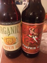 Two pumpkin beers so far, but I'm still waiting on my fav.