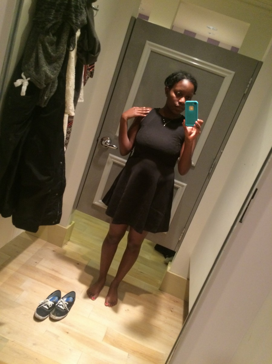 The lighting was poor and makes me look hella top heavy but this dress was exactly what I was looking for.