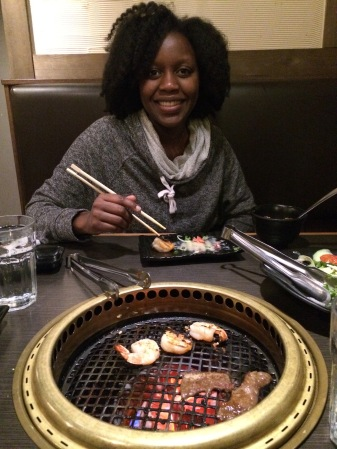 Japanese BBQ with my boo.